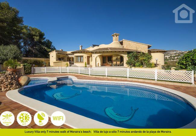 Villa in Moraira - Solhabitat La Sort