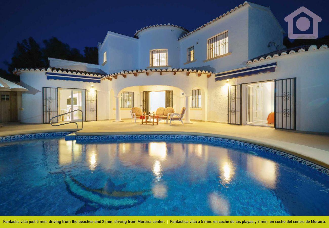 Villa in Moraira - Solhabitat Diva Moraira