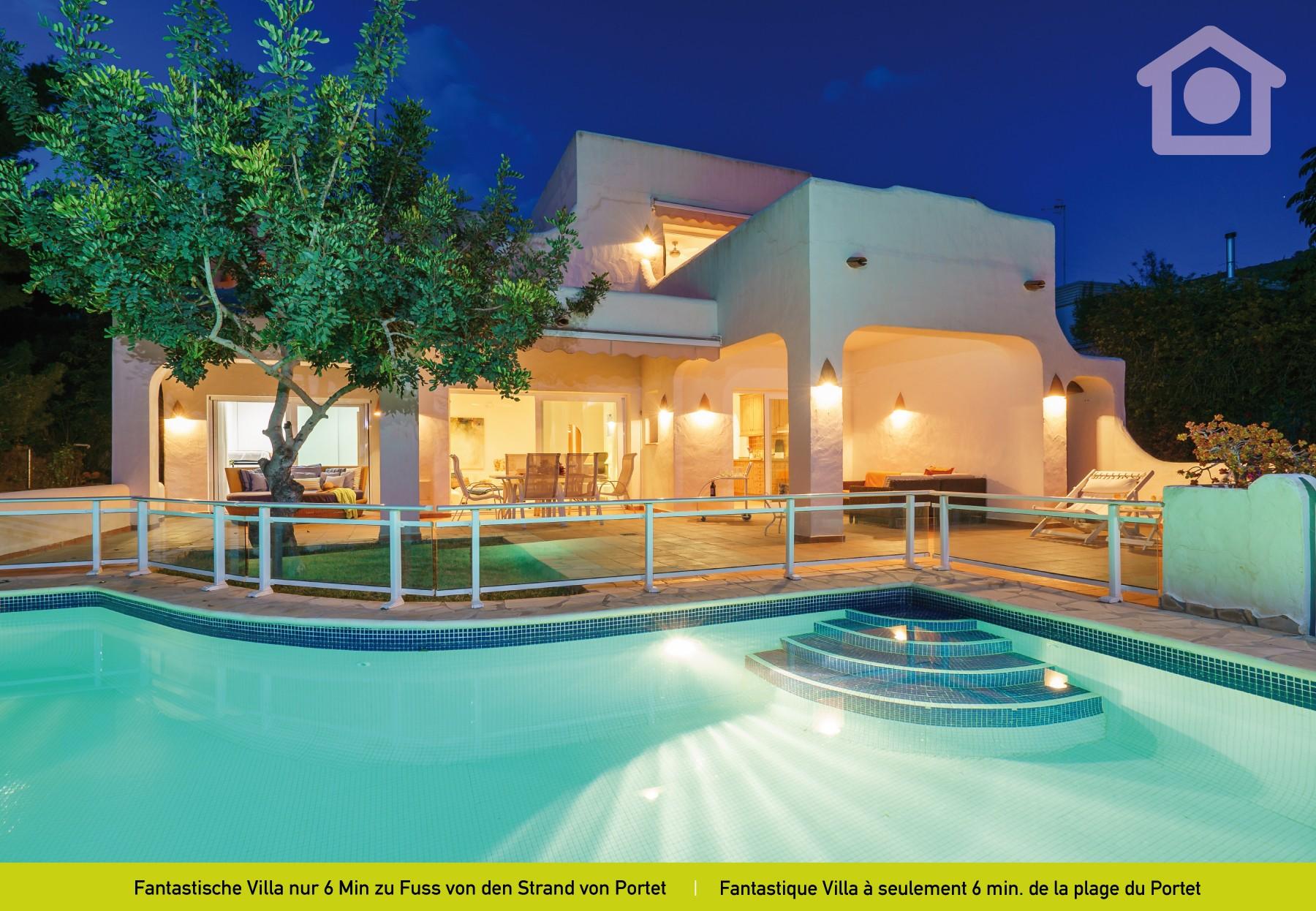 Villas in moraira solhabitat portet beach - Villa el portet ...