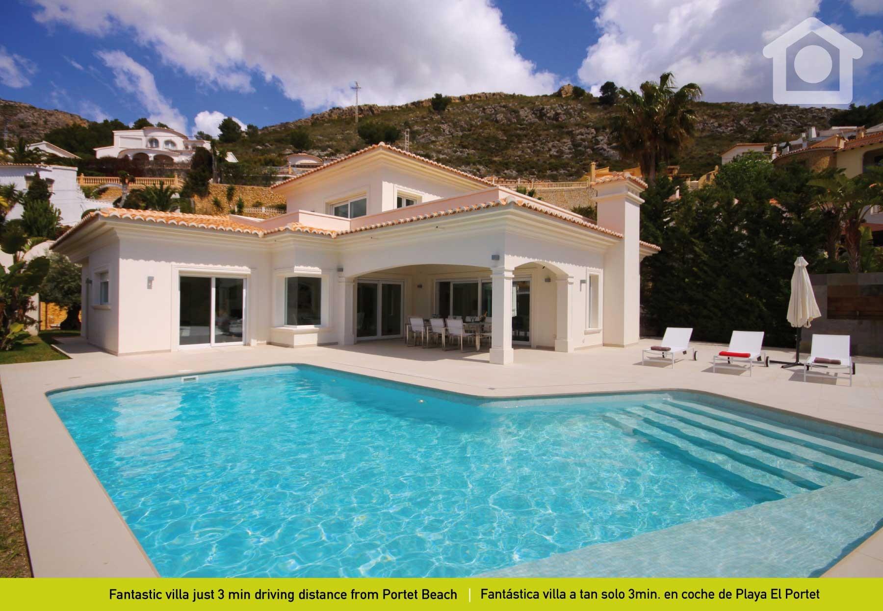 Villas in moraira moraira portet luxe - Villa el portet ...
