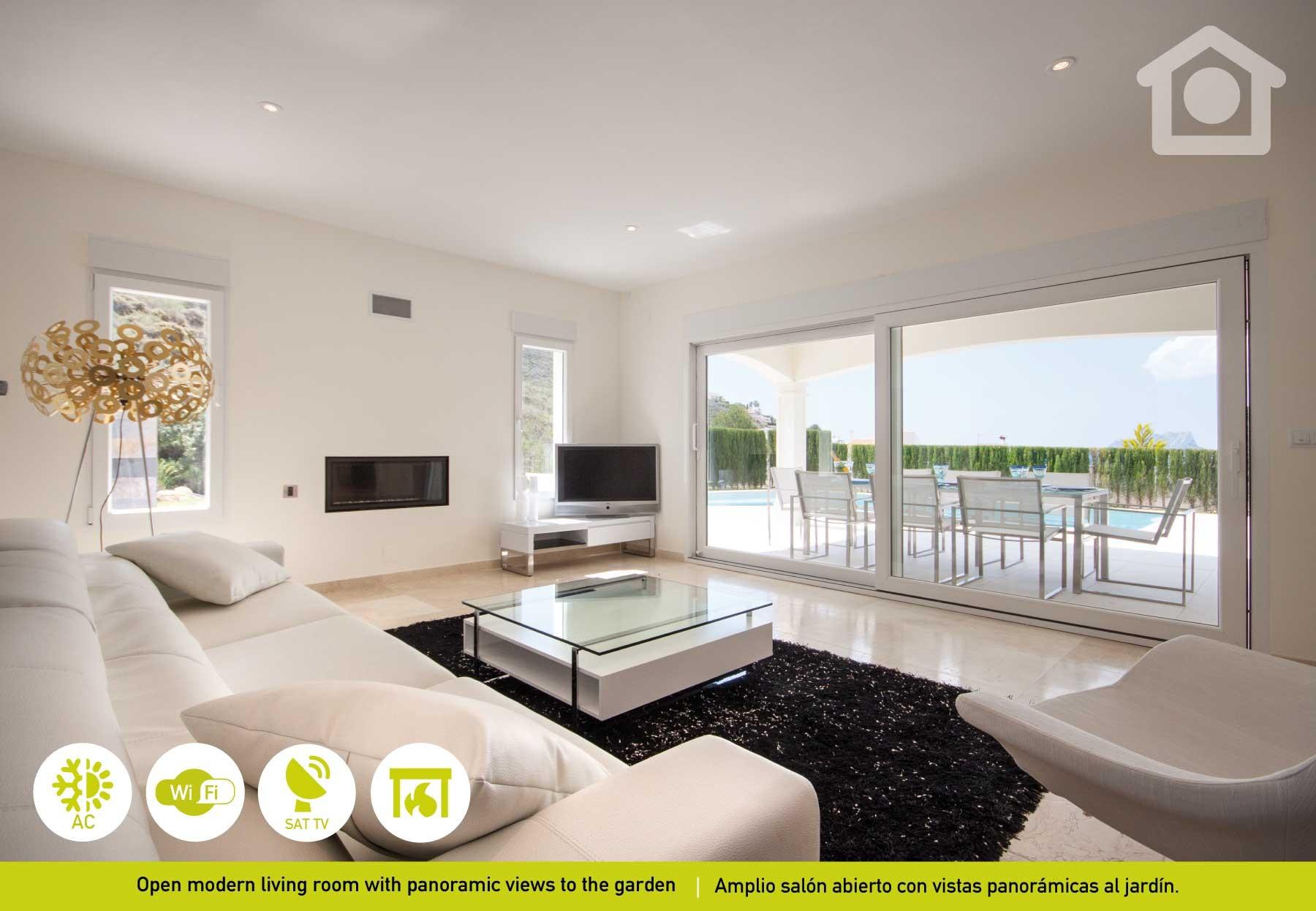 Villas In Moraira Moraira Portet Luxe # Salon De Luxe Avec Tv
