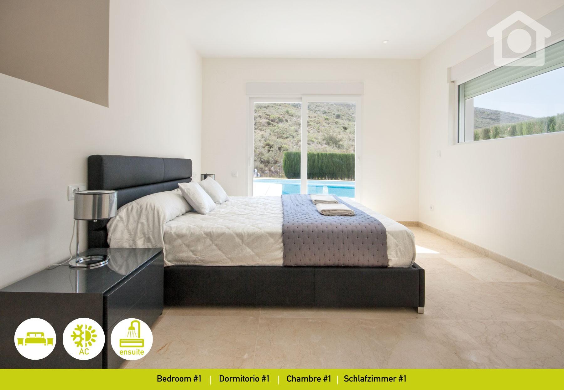 villas in moraira - moraira portet luxe, Schlafzimmer entwurf
