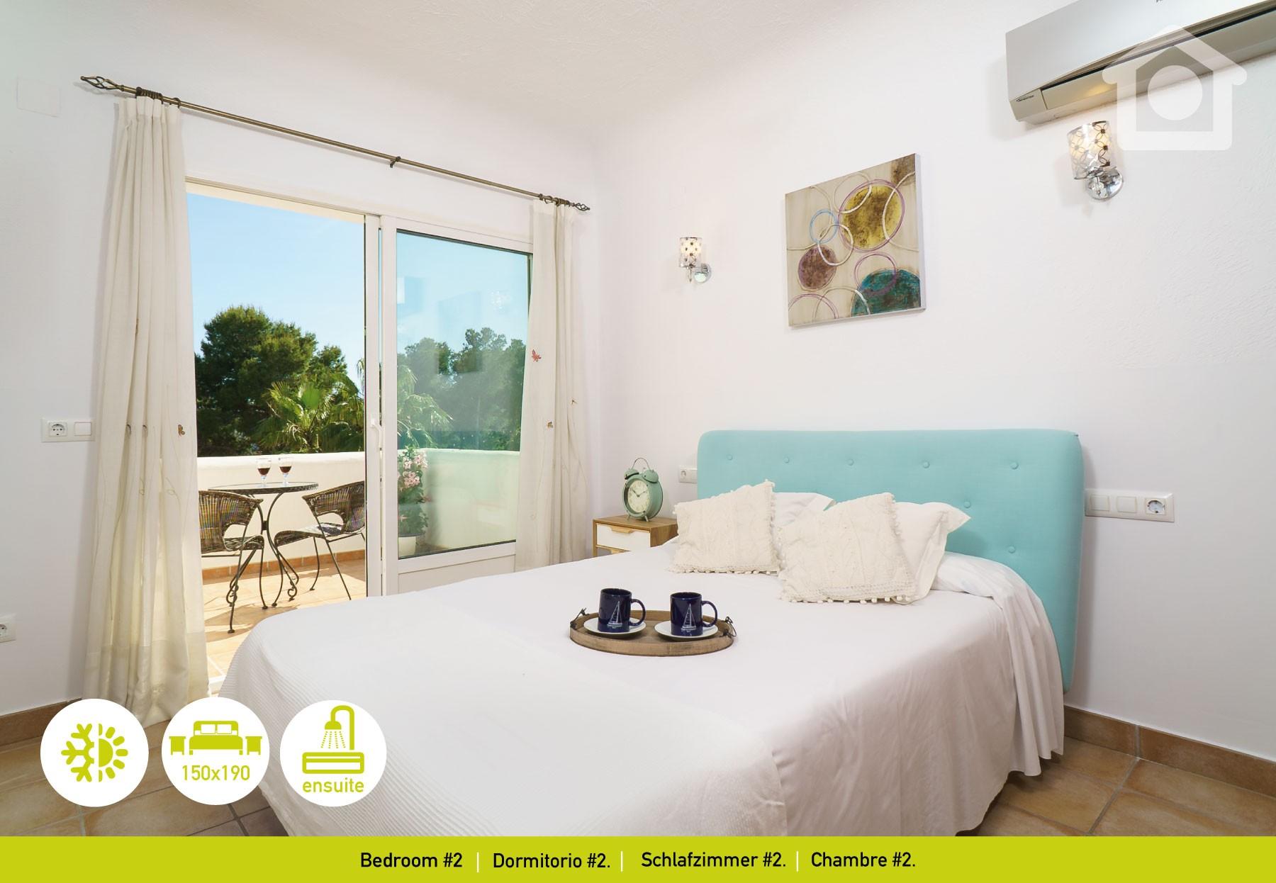 villas in moraira - solhabitat moraira portet relax, Schlafzimmer entwurf