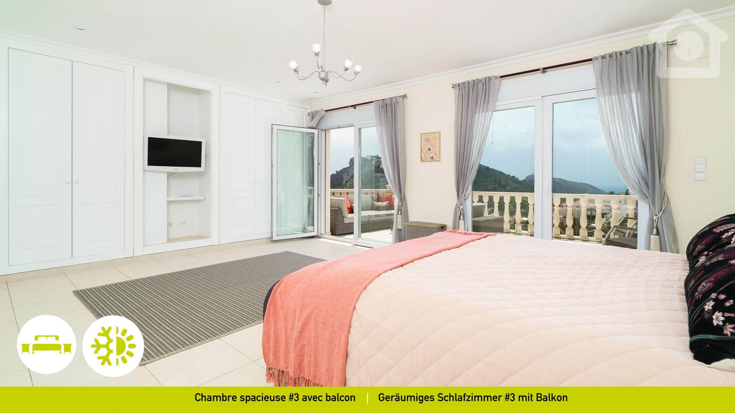 10 modern schlafzimmer bank designs, villas in moraira - solhabitat infinity moraira, Design ideen