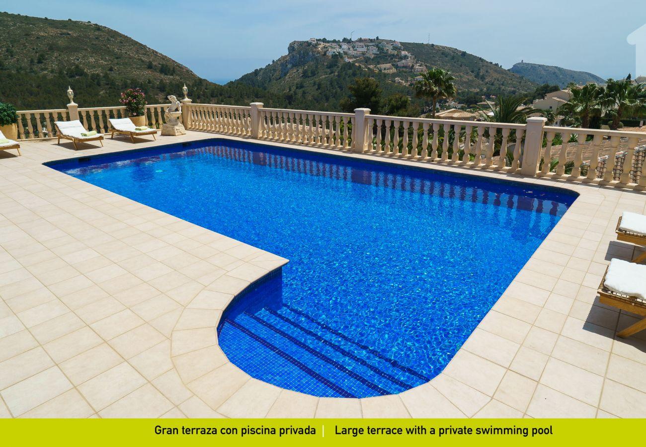 Villa in Moraira - Solhabitat Infinity Moraira